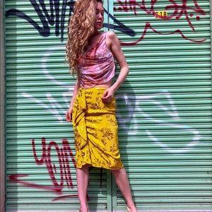 Zara silky skirt